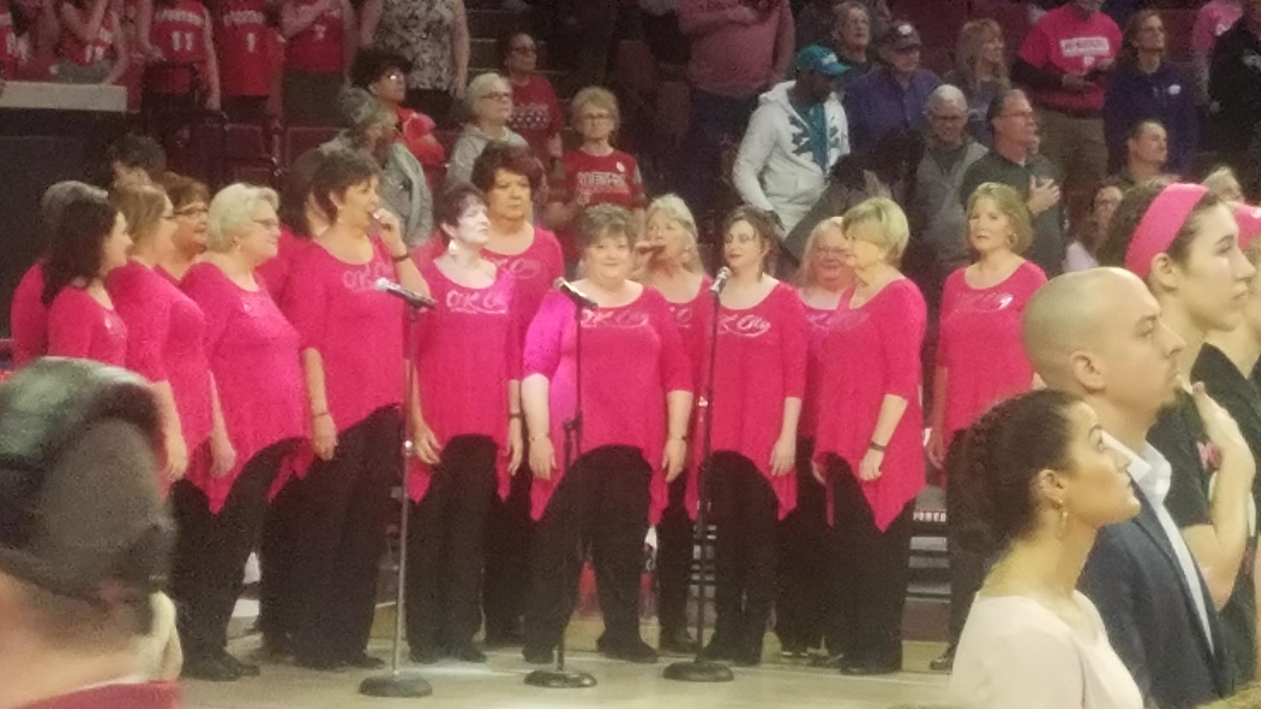 OK City Chorus Goes PINK