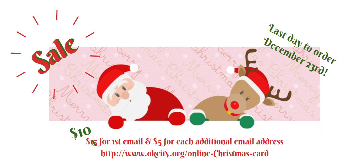 OK City Offers Online Christmas Cards